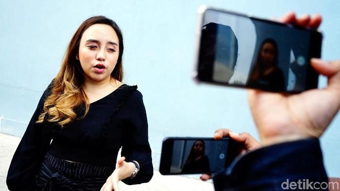 Salmafina Sunan dikabarkan baru saja sedot lemak (Foto: Palevi S/detikFoto)