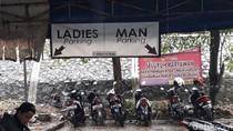 Penampakan Parkiran RSUD Depok yang Viral Pisahkan Pria-Wanita