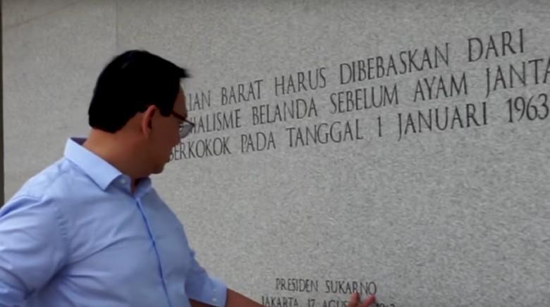 Ngevlog di Lapangan Banteng, Ahok Cerita soal KLB Pengembang