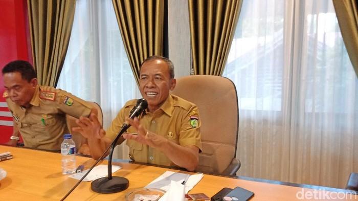 Wali Kota Palu Hidayat (Qodri/detikcom)