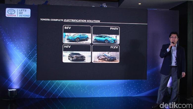 Mobil-mobil yang akan dipamerkan Toyota di GIIAS 2019 Foto: Toyota