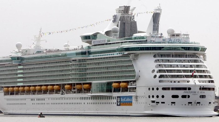 Kapal pesiar Freedom of the Seas dalam foto tahun 2006 (DON EMMERT/AFP)