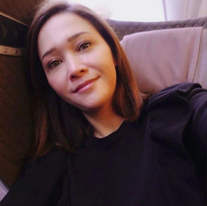 Maia Estianty atau dipanggil juga Bunda Maia sering traveling bersama suaminya. (maiaestiantyreal/Instagram)
