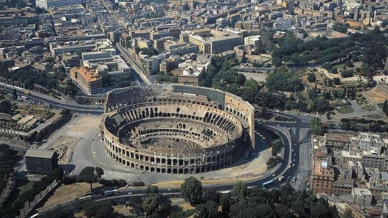 Colosseum di Italia. (Foto: De Agostini/Getty Images)