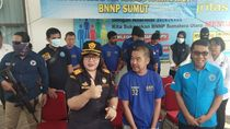 BNN-Bea Cukai Sumut Gagalkan Penyelundupan 6 Kg Sabu dari Malaysia