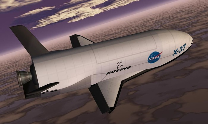 Ilustrasi X-37B. Foto: istimewa