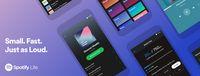 Spotify web player.