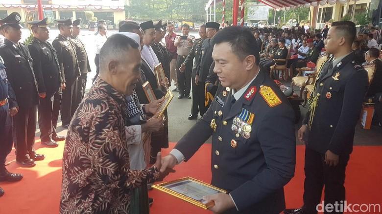 Polda Banten Beberkan Pengungkapan Seluruh Kasus Pembunuhan