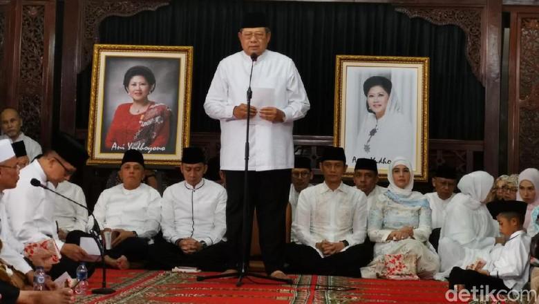 SBY di Tahlilan 40 Hari Ani Yudhoyono: Saya Terus Menata Hati