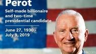 Ross Perot, Miliarder Bekas Capres AS Meninggal Dunia