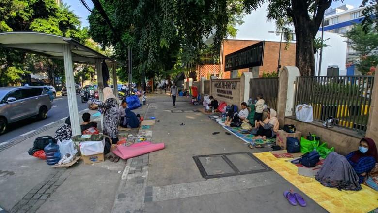 Pemprov DKI Sediakan Makanan untuk Pencari Suaka Hanya Satu Pekan