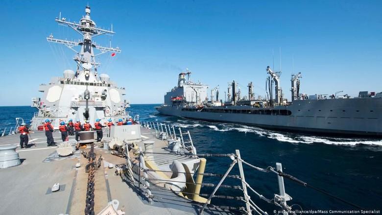 AS Ingin Galang Koalisi Untuk Kawal Kawasan Teluk dan Selat Hormuz