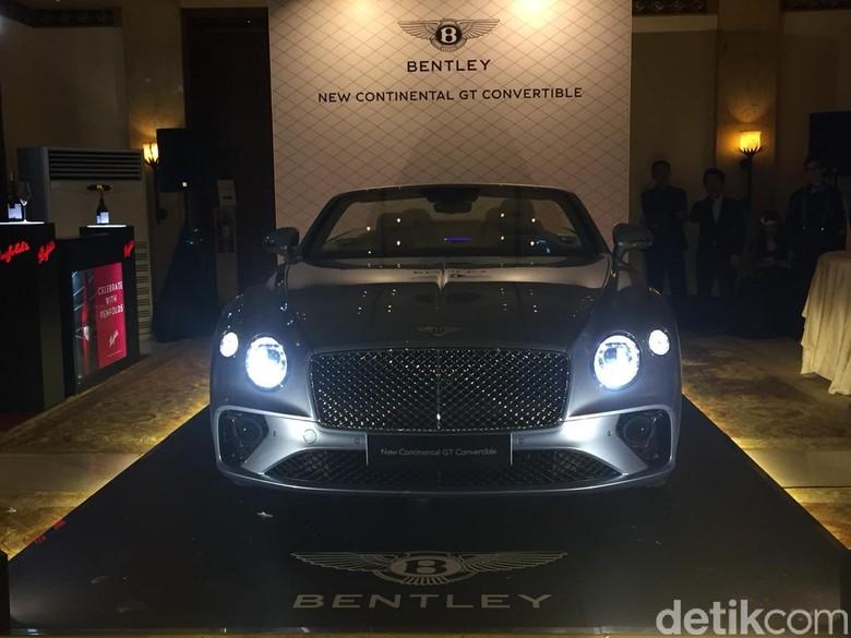 Bentley New Continental GT Convertible. Foto: Dadan Kuswaraharja/detikOto