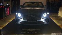 Bentley Continental GT Convertible Mengaspal di Jakarta