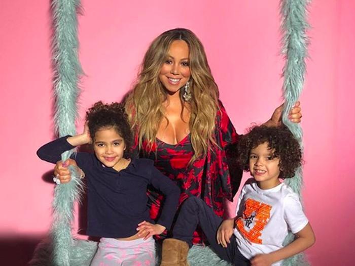Mariah Carey dan Anaknya
