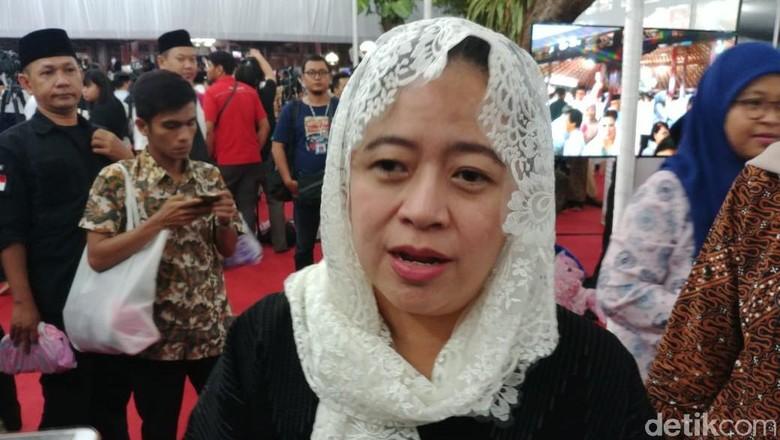 Hadiri Tahlilan di Cikeas, Puan: Nggak Terasa Sudah 40 Hari Ibu Ani Wafat