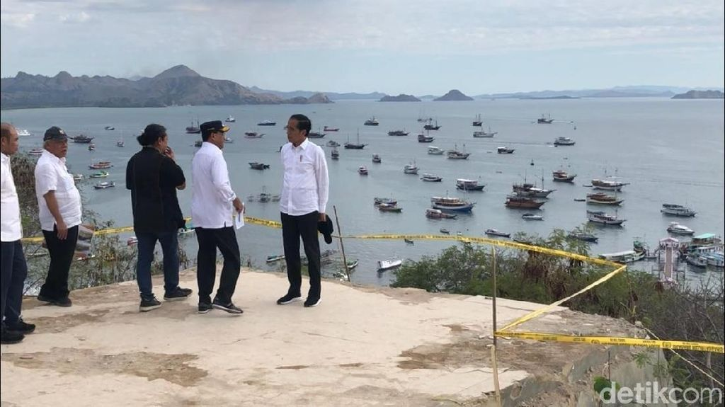 Jokowi Ingin Sulap Labuan Bajo Jadi Wisata Premium