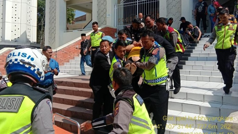 Aiptu Cecep Meninggal Usai Salat Duha di Masjid Kabupaten Bandung
