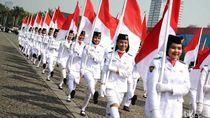 Ragam Atraksi Menarik Meriahkan HUT ke-73 Bhayangkara di Monas
