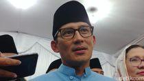 Sandiaga soal Pertemuan Lanjutan Jokowi-Prabowo: Saya Tidak Terlibat