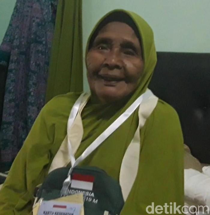 Calhaj Berusia 103 tahun asal Pamekasan/Foto: Hilda Meilisa Rinanda