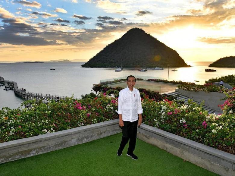 Tingkatkan Kunjungan Wisman, Jokowi Minta Penataan Labuan Bajo Dipercepat