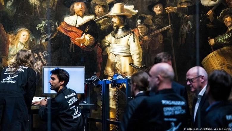 Pertama Kali, Restorasi Lukisan Terkenal Bisa Ditonton Pengunjung Museum