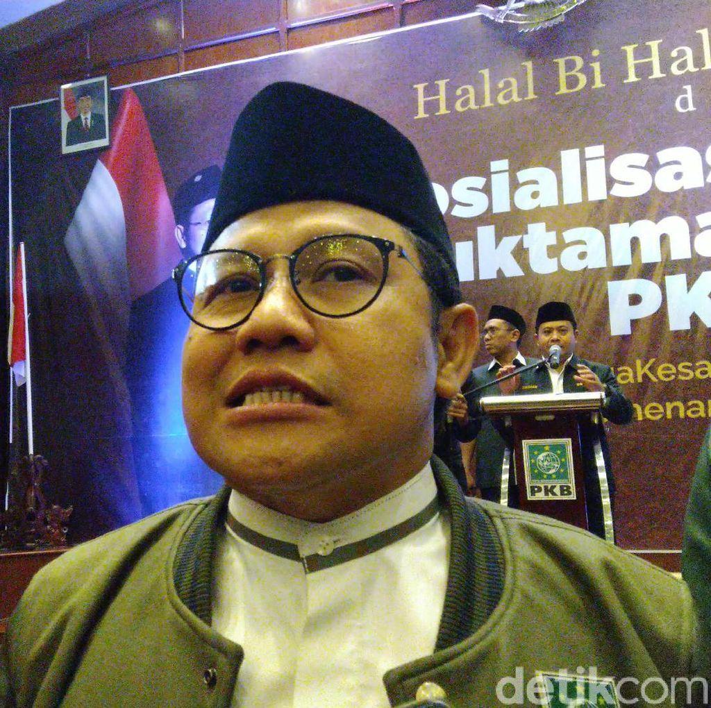 Megawati akan Bertemu Prabowo, Cak Imin: Bagus untuk Kebersamaan
