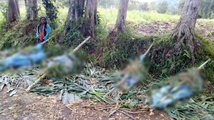 Kekerasan antar etnis sering terjadi di Papua Nugini. (Facebook: Pills Kolo via ABC Australia)