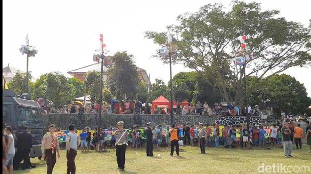 Kemeriahan Pesta Rakyat di HUT ke-73 Bhayangkara di Tasikmalaya