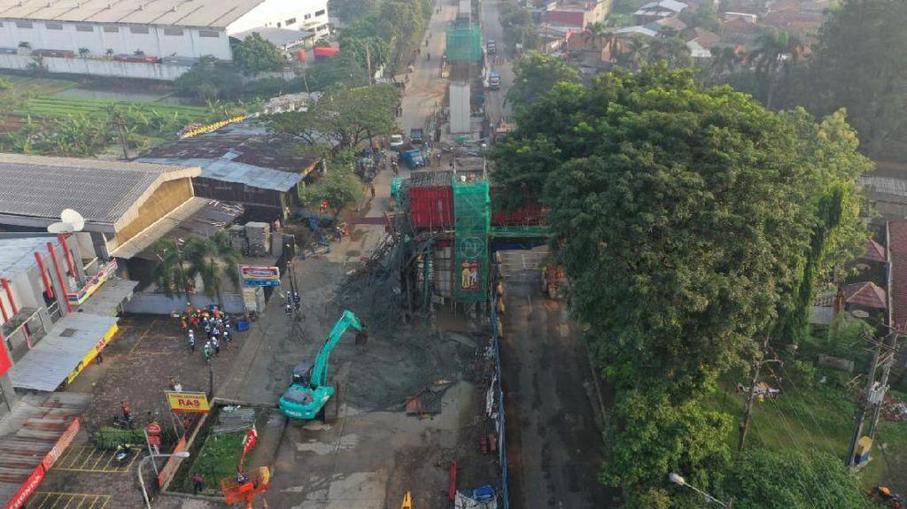 Beton Tol BORR Ambrol karena Human Erorr, Kepala Proyek-Pengawas Dicopot