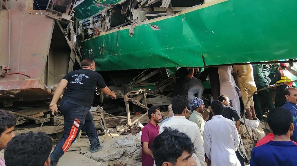 Tabrakan Kereta di Pakistan Tewaskan 11 Orang, 66 Luka-luka