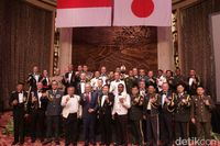Sesi foto dalam acara Japan Self Defense Forces Day.