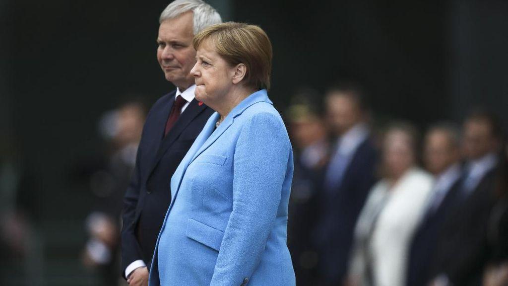 Kanselir Jerman Kejang-kejang Lagi di Depan Umum, 3 Kali dalam Sebulan