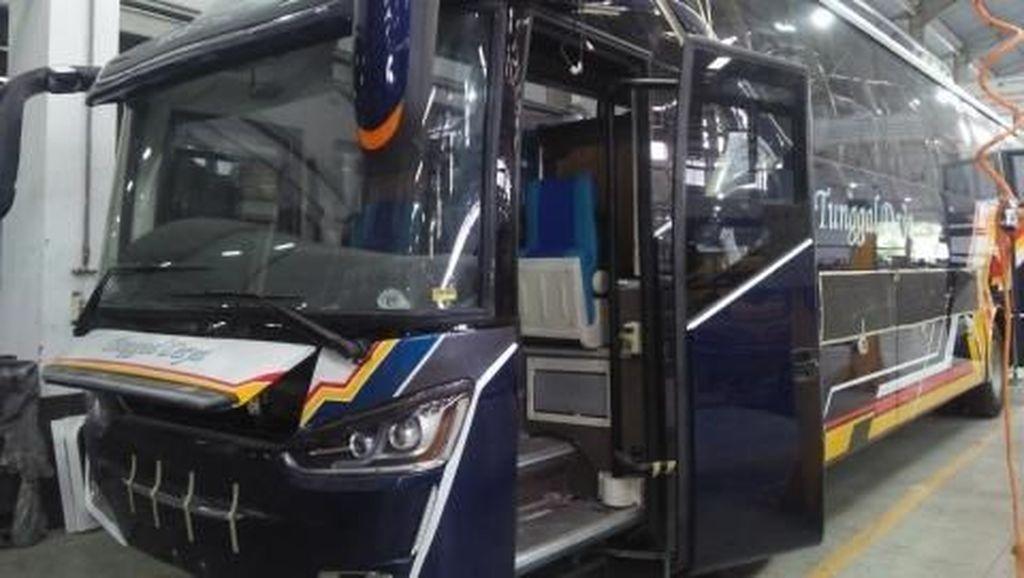 KNKT Akui Indonesia Belum Terapkan Uji Kekuatan Kursi Bus