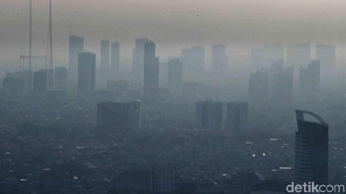 Polusi ibu kota. Foto: Rifkianto Nugroho