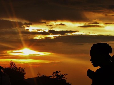 Foto: Gunung Salak yang Angker, Namun Indah