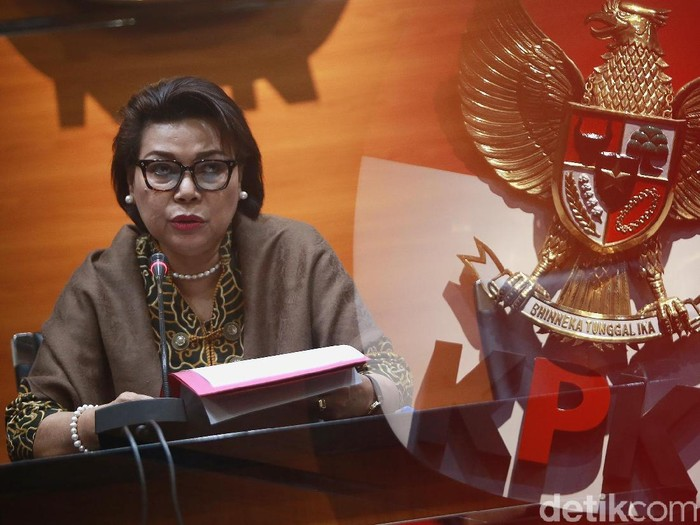 Wakil Ketua KPK Basaria Pandjaitan yakin lolos seleksi sebagai capim KPK kembali. (Ari Saputra/detikcom)