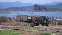 Musim Kemarau, Kampung yang Terendam Waduk Jatigede Kembali Terlihat
