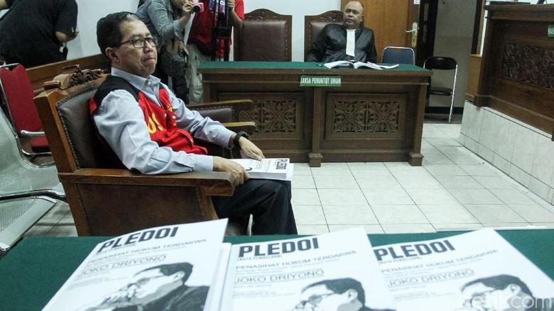 Joko Driyono Jalani Sidang Pledoi