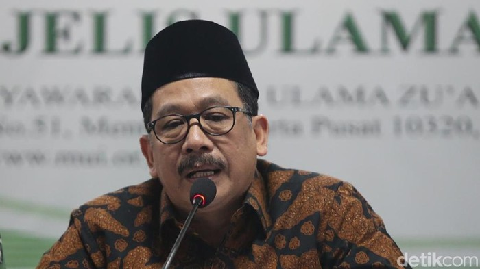 Wakil Menteri Agama (Wamenag) Zainut Tauhid Saadi (Ari Saputra/detikcom)