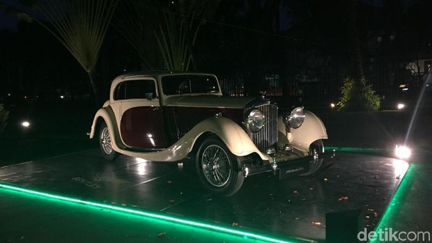 Wah, Ada Mobil Bentley Berumur 84 Tahun Masih Mulus di Jakarta