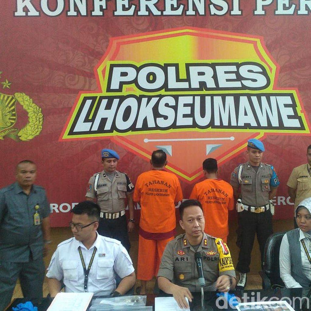 Sebar Hoax Kasus Cabul Pimpinan Pesantren di Lhokseumawe, 3 Pria Ditangkap