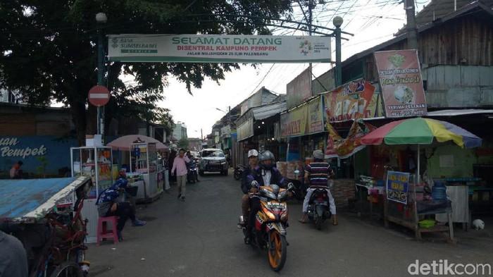 Foto: Kawasan UKM Pempek di Palembang (Raja-detik)