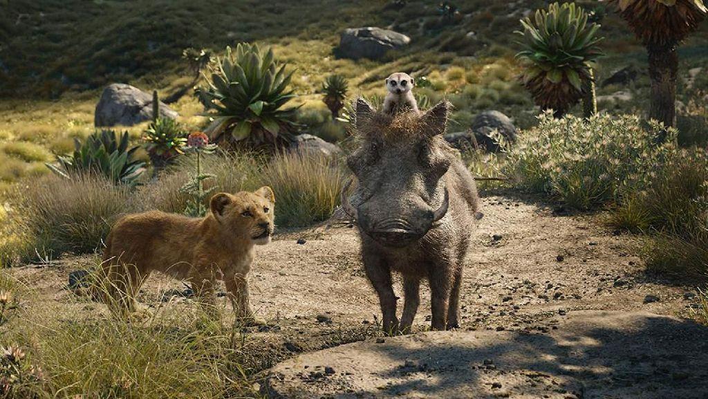 The Lion King Bawa Suasana Afrika di Film Secara Digital
