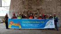 PGN Pasok Gas Bumi ke Industri Kapur di Majalengka