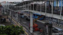 Sempat Dibuka, Skybridge Penghubung LRT-TransJ Velodrome Ditutup Lagi