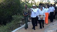Jokowi di Pulau Rinca