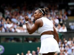 Rambut Dikonde, Senjata Rahasia Serena Williams Menang Pertandingan Wimbledon
