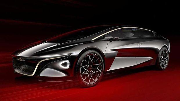Desain Mobil Otonom Aston Martin